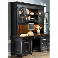 Executive Credenza Hutch