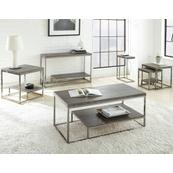Lucia 3-Piece Set(Cocktail & 2 End Tables)