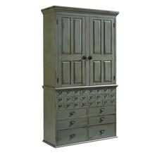ARMOIRE,CARD CATALOG-HUTCH-PAT