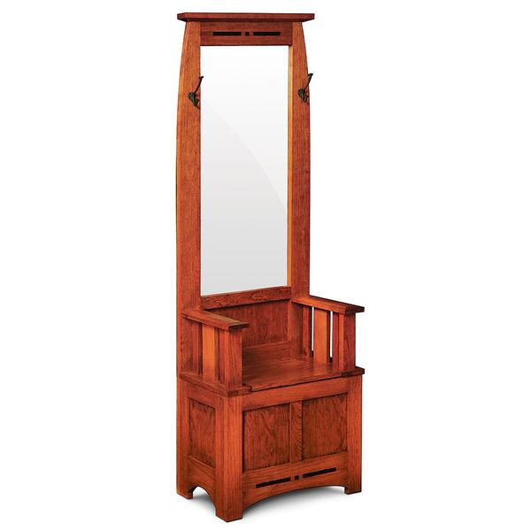 See Details - Aspen Hall Seat with Mirror and Inlay