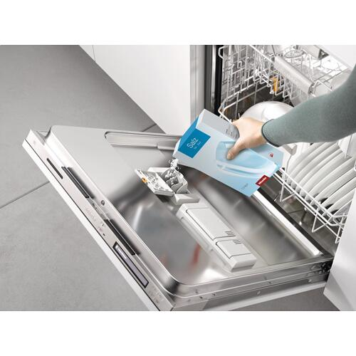 GS SA 1502 P - Dishwasher salt, 1.5g (3.3 lb) for optimum function and performance of a Miele dishwasher.