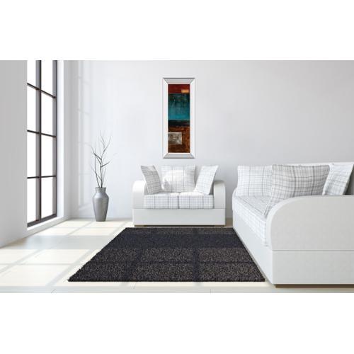 """Linear I"" By W. Blake Mirror Framed Print Wall Art"