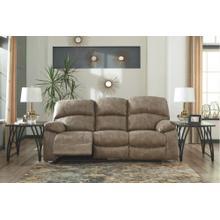 Power Reclining Sofa With Adjustable Headrest Dunwell Driftwood