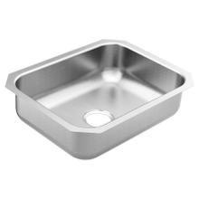 """See Details - 2000 Series 23-1/2""""X18-1/4"""" stainless steel 20 gauge single bowl sink"""