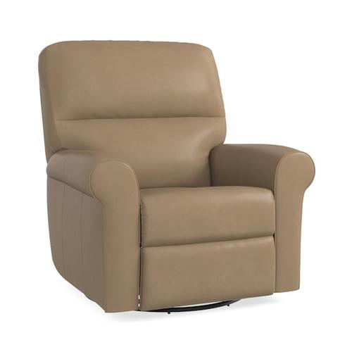 Gallery - Bedford Leather Swivel Glider Recliner