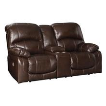 View Product - Hallstrung Power Reclining Loveseat With Console