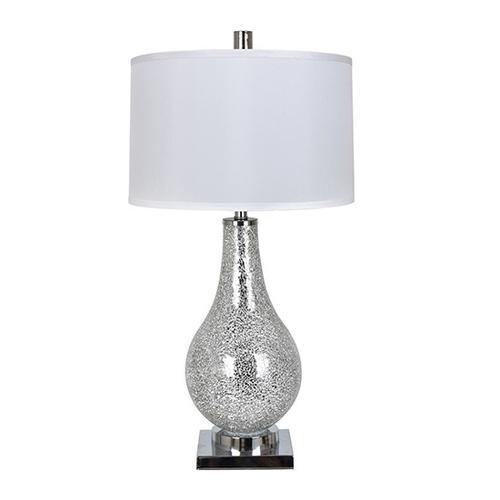 Ascott Silver Table Lamp