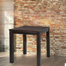 Hanover Ravenna Mango Wood Counter-Height Dining Table in Dark Brown, 36-In. W x 36-In. D x 36-In. H, HDR003-DKBRN