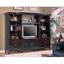 "WALL UNIT TV CART,CAPPUC 40""Lx21""Wx26-1/2""H"