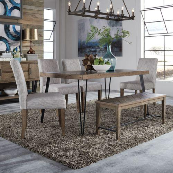 See Details - 6 Piece Rectangular Table Set