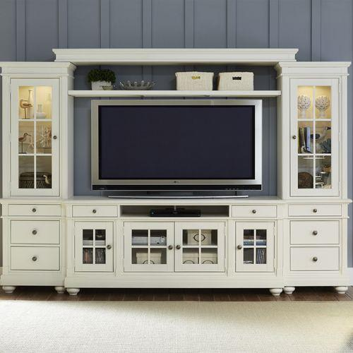 Liberty Furniture Industries - Opt Entertainment Center w Piers