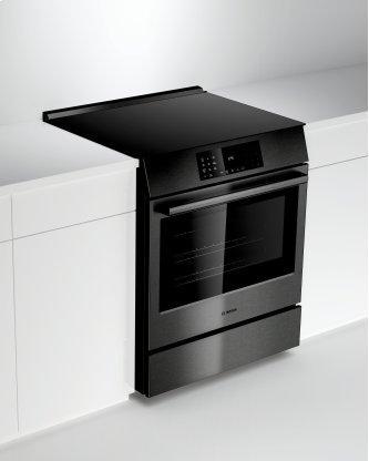 800 Series Induction Slide-in Range black inox HII8046C