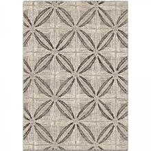 Daisy Contemporary 8x10 Area Rug in Grey/Cream