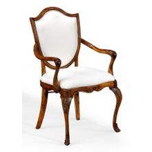 Upholstered shield back chair (Arm)