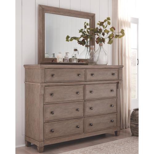 Challene Dresser and Mirror