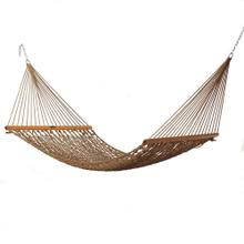 View Product - Single Original Duracord Rope Hammock - Antique Brown