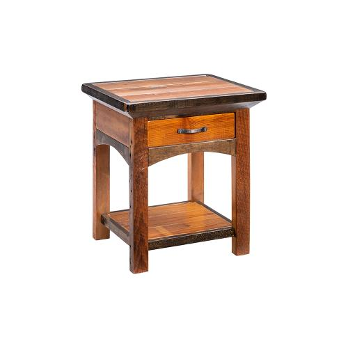 Mossy Oak Natchez Trace 1 Drawer Nightstand With Shelf