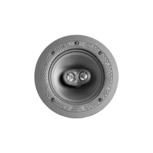 """See Details - Disappearing Series Round Stereo 6.5"""" In-Wall / In-Ceiling Speaker"""