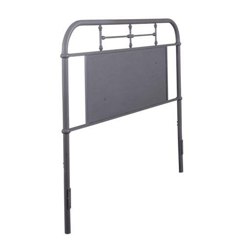 Queen Metal Headboard - Grey