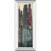 """Urban Landscape III"" By Norman Wyatt Mirror Framed Print Wall Art"