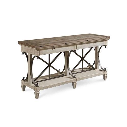A.R.T. Furniture - Arch Salvage Vaux Sofa Table Cirrus