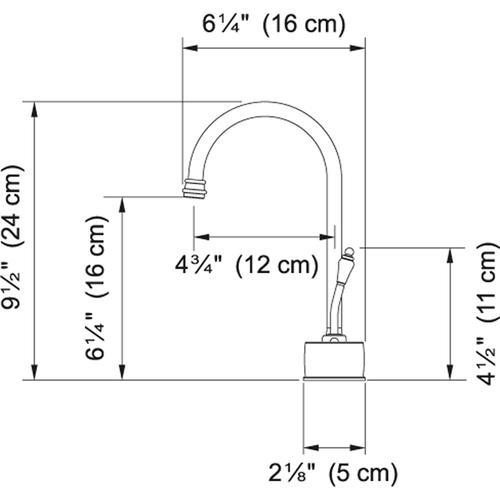 Franke - LB6180C Satin Nickel