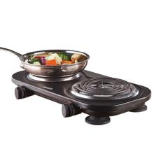 View Product - Brentwood TS-361BK 1500w Double Electric Burner, Black