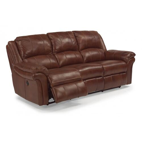 Product Image - Dandridge Leather Power Reclining Sofa