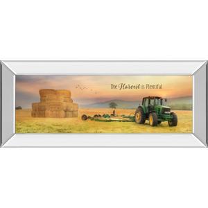 """The Harvest Is Plentiful"" By Lori Deiter Mirror Framed Print Wall Art"