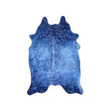 See Details - Metallic Vegan Hides - Navy Blue