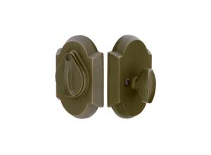 #1 Sandcast Bronze Deadbolt with Flap Product Image