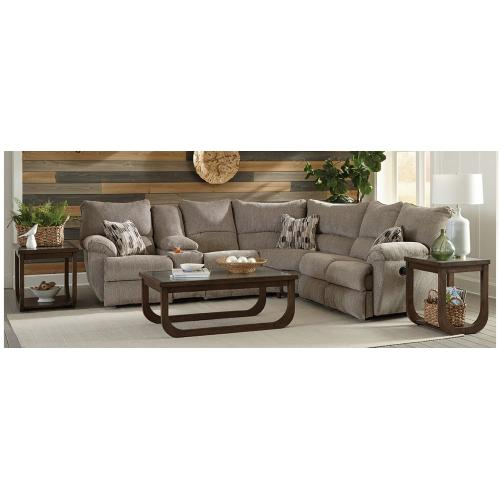 American Wholesale Furniture - Rec LSF Console Section Lay Flat