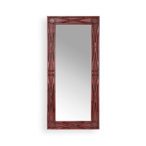 Island Mirror - Red