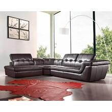 Divani Casa Refata - Modern Italian Leather Sectional Sofa