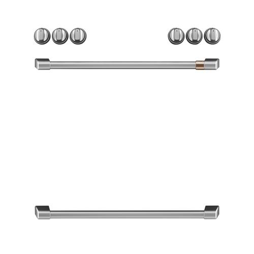 Café™ Front Control Electric Knobs and Handles - Brushed Stainless
