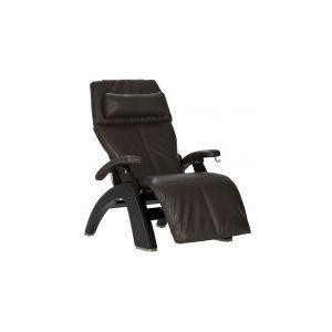 Perfect Chair ® PC-420 Classic Manual Plus - Matte Black - Espresso Premium Leather