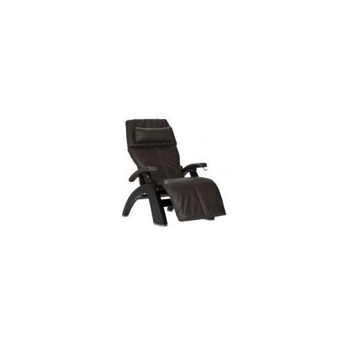 Human Touch - Perfect Chair ® PC-420 Classic Manual Plus - Matte Black - Espresso Premium Leather