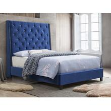 Chantilly Q Hb Royal Blue Velvet