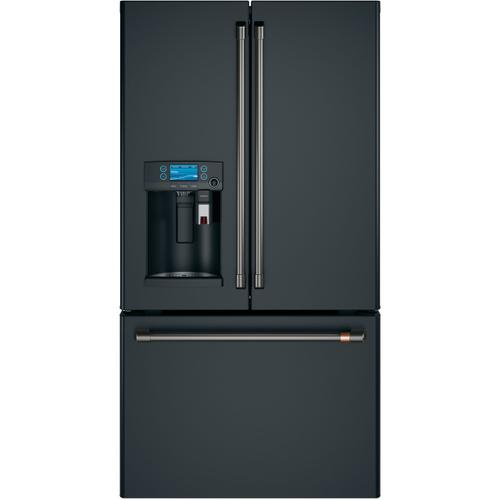 Cafe - Café™ ENERGY STAR® 27.7 Cu. Ft. French-Door Refrigerator with Keurig® K-Cup® Brewing System