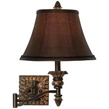 Pine Cone Glow Wall Lamp