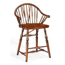 Windsor style counter stool (Arm)