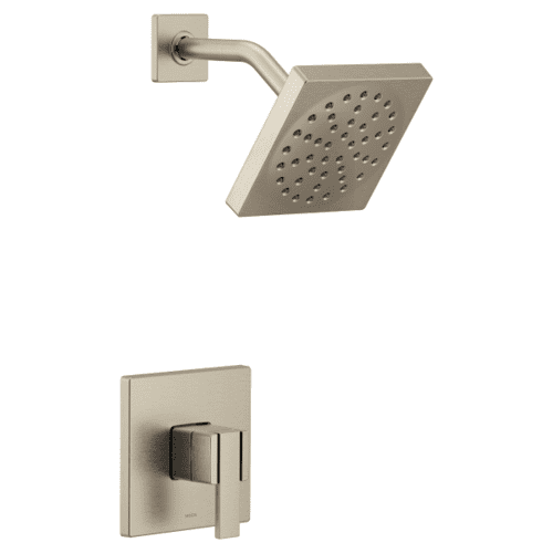 90 Degree brushed nickel m-core 3-series shower only