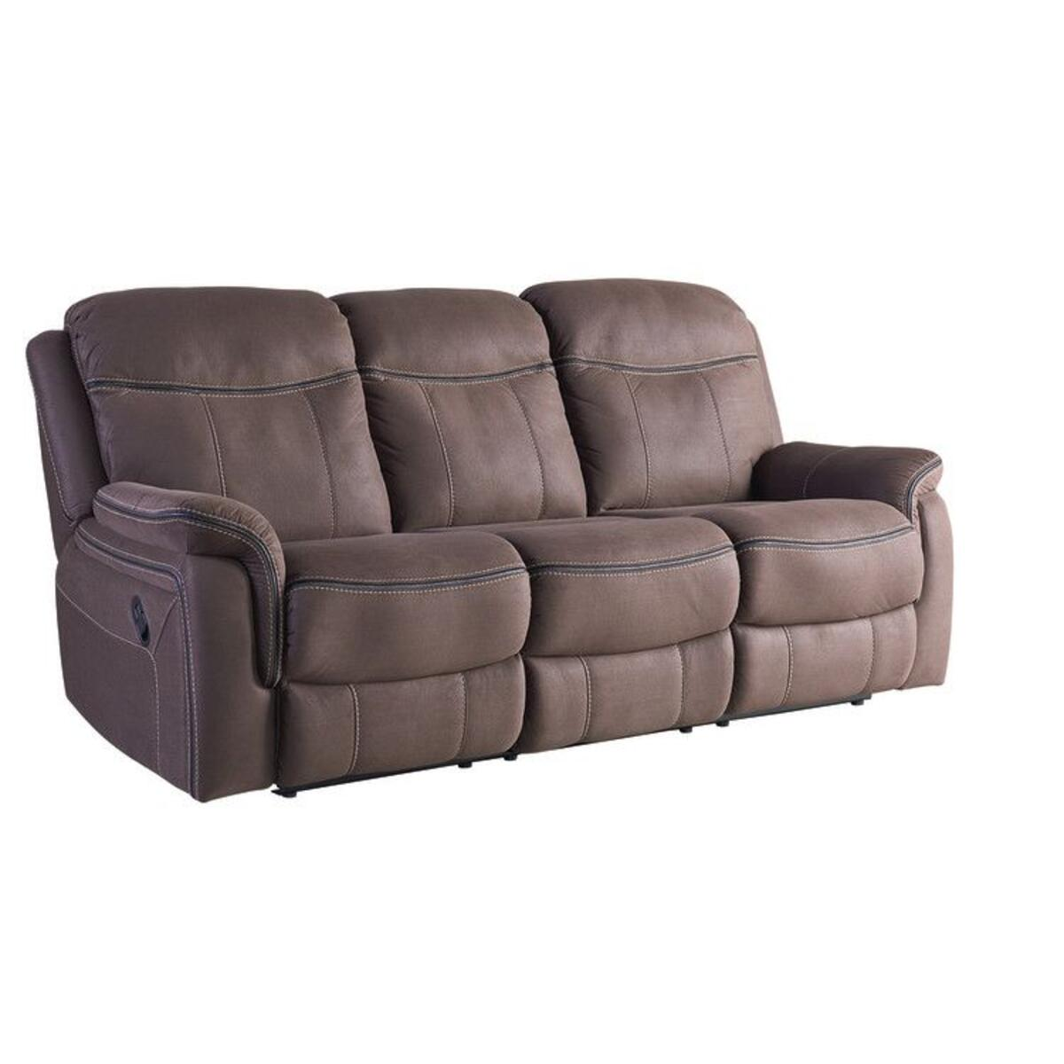 Champion Manual Motion Sofa, Taupe
