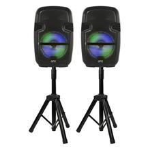 "8"" X 2 Tws Portable Speakers With Stands"