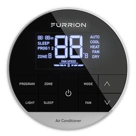 Furrion CHILL%C2%AE Multi Zone Wall Thermostat - Black