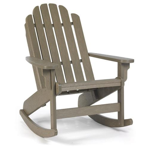 Quick Ship Shoreline Adirondack Rocker