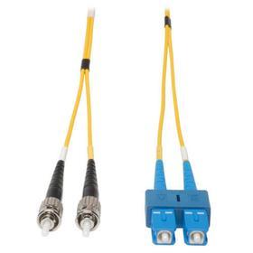 Duplex Singlemode 9/125 Fiber Patch Cable (SC/ST), 5M (16 ft.)