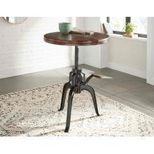Sparrow 30-inch Round Crank Table