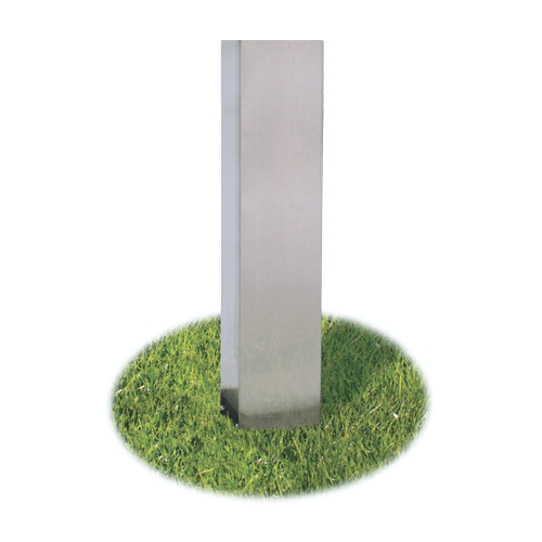 STAINLESS STEEL IN-GROUND POST SS48G