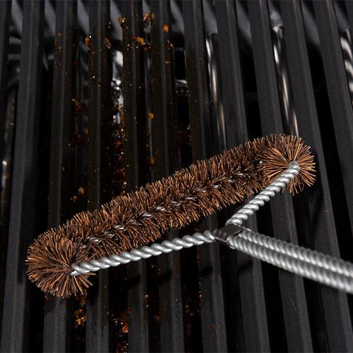 Tri-Head Palmyra Grill Brush